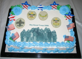 Court-of-Honor Cake