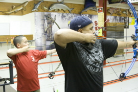 Archery Lessons -- photo provided by Abel