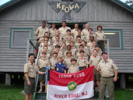 Keowa 2010 � Troop Photo