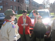 Troop 2295: Scoutmaster organizes patrols