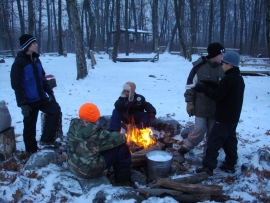 Troop 2295 camping weekend (December 7-9)